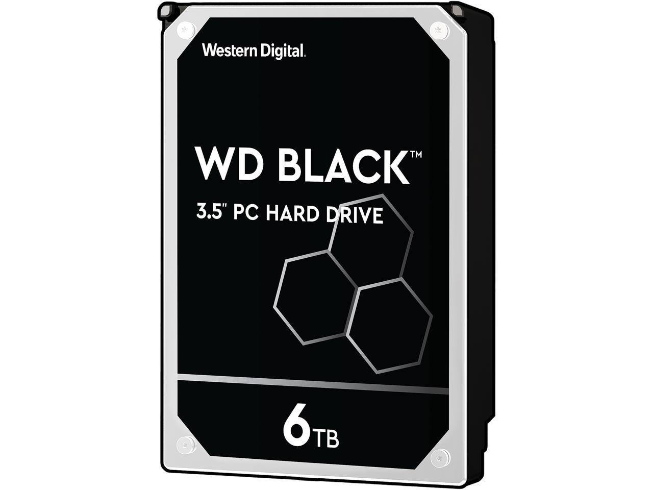 WD Black 6TB hard drive, YMMV $126.25