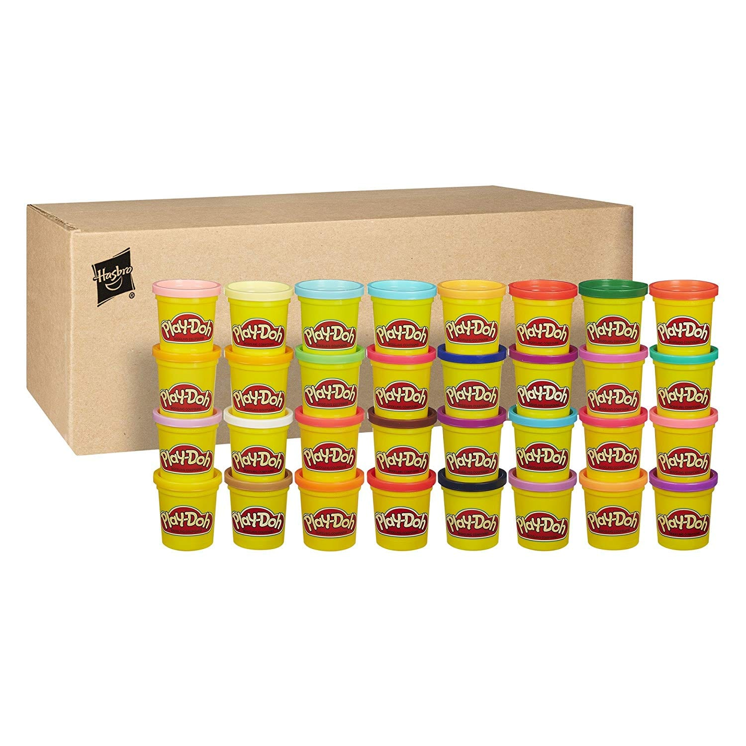 Play-Doh Modeling Compound 36-Pack Case of Colors, Non-Toxic, Assorted Colors, 3-Ounce Cans (Amazon Exclusive) $14.99