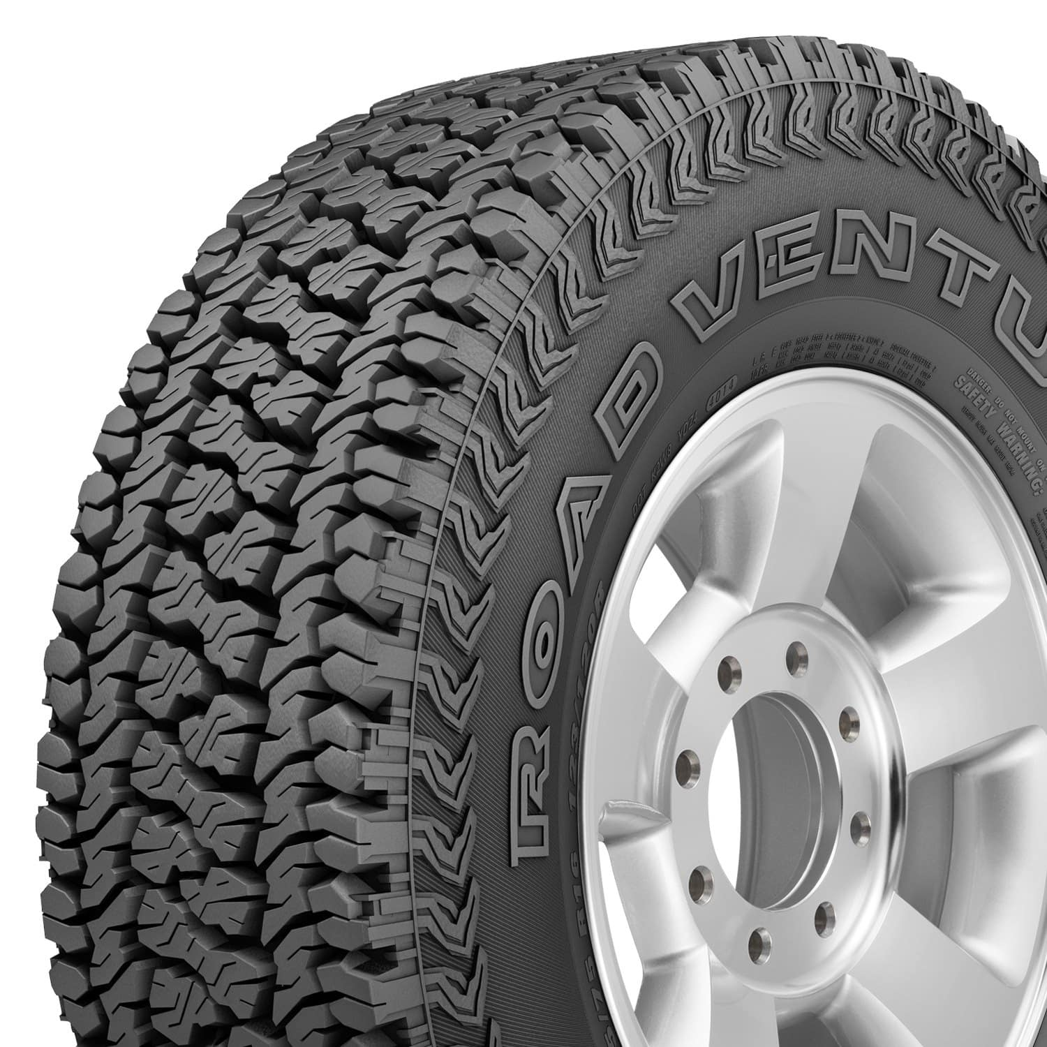 Kumho Road Venture AT51 315/70R17 $180.18