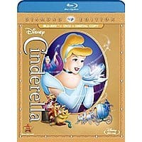 Amazon Deal: Disney Cinderella (Three-Disc Diamond Edition: Blu-ray/DVD + Digital Copy) - $19.99 at amazon.com