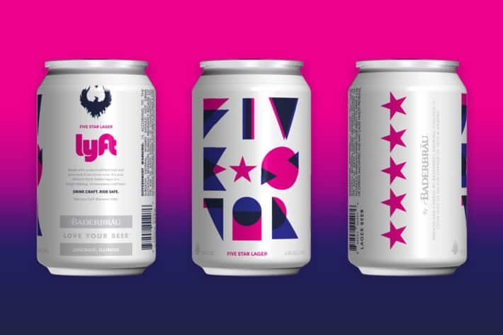Lyft in Chicago, codes for up to a $5 discount from Five Star Lager Beer