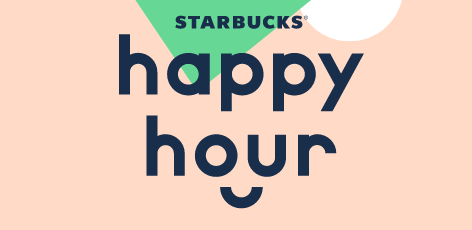 BOGO Any Frappuccino Blended Beverage Or Espresso (Grande or Larger) w/ Starbucks Happy Hour Enrollment (3PM to Closing)