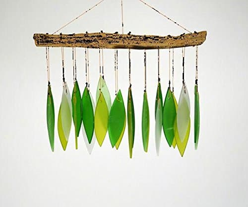 Spring Leaves Glass Wind Chime $10.76