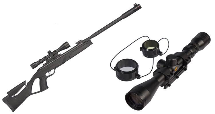 $80 - GAMO Whisper Fusion Elite .177 Caliber Air Rifle with 3-9x40mm Scope