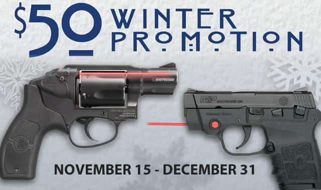 Smith & Wesson Pistol Sale + $50 Rebate $199
