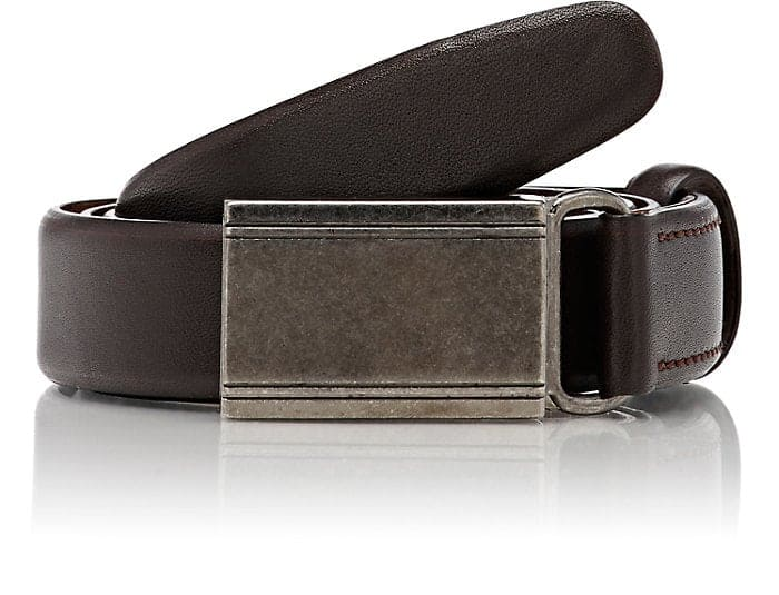 Barneys New York Men's Leather Belt $29.7