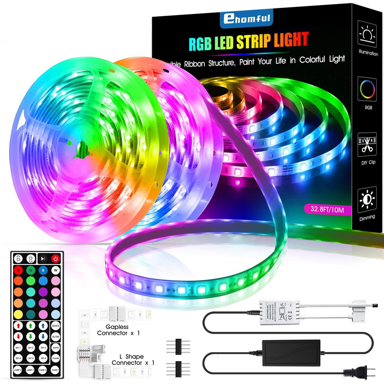32.8ft led strip lights (10m) $16.99