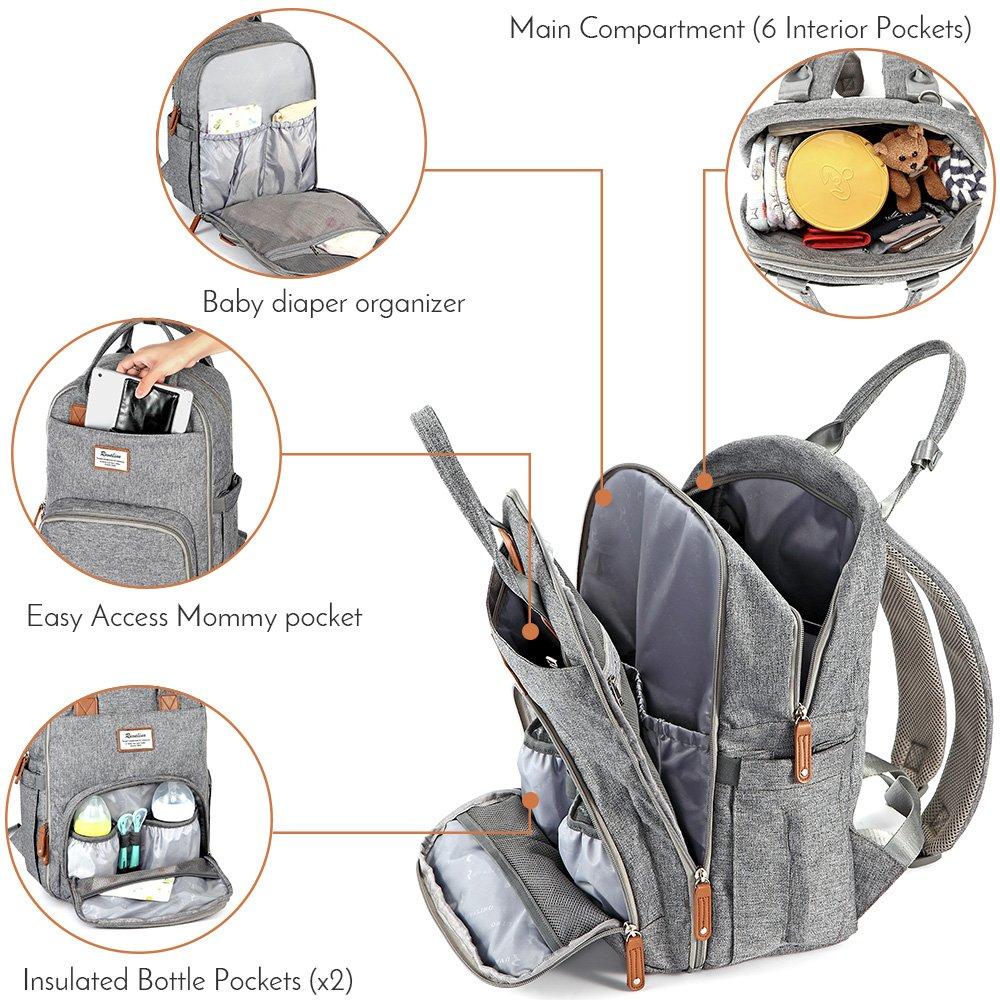 Diaper Bag Backpack $22.19