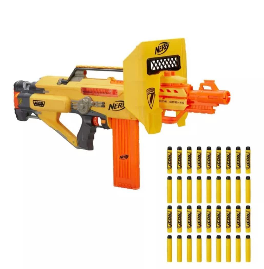 Target Circle Daily Deal 12-NOV-2019 Only, 25% off Nerf Stackable with 25% One Toy (Text TOY to 827438), Stacks on existing sale prices!
