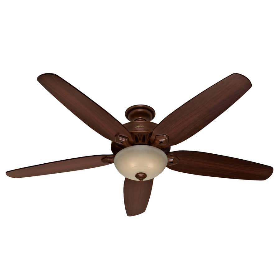 Hunter Castleton 70-in Northern Sienna Indoor Downrod Or Close Mount Ceiling Fan with Light Kit - NOW $143.28 at Lowe's WAS $199