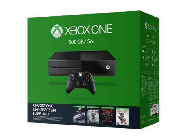 Xbox One 500GB - Name Your Game Bundle $205.98