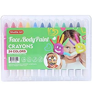 24 Color Face/ Body Paint Kit for Kids  -  $11.99