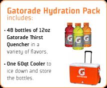 dead - Free 60qt Gatorade Cooler + 48 12oz Bottles (for little league coaches)