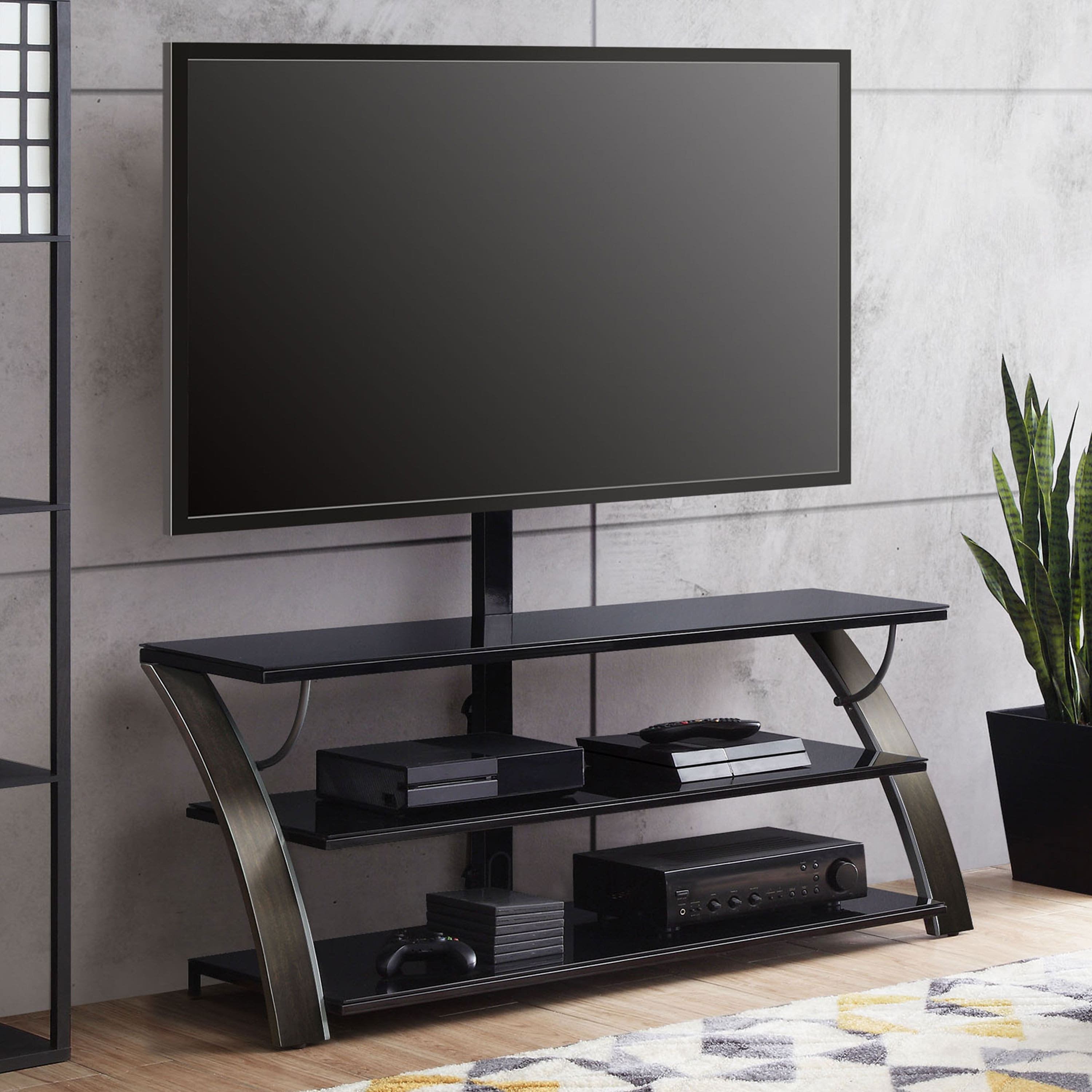 Whalen Payton 3 In 1 Flat Panel Tv Stand For Tvs Up To 65 105