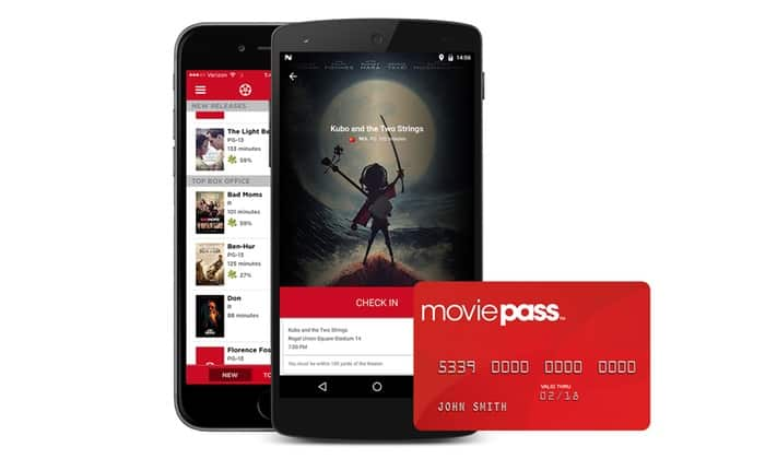 Group On:One-Month Plan with Unlimited Movies Per Month from MoviePass for $18 - Targeted with Email YMMV