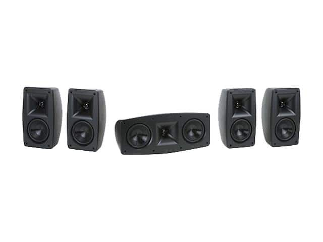 Newegg: Klipsch - Quintet V 5.0-Channel Home Theater System - Black for $225 with Free Shipping