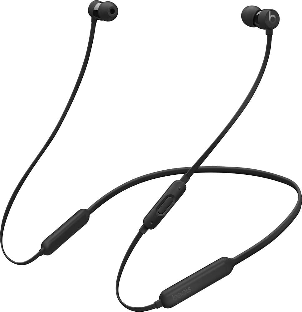 Best Buy :Beats by Dr. Dre - BeatsX Earphones - Black for $100 - FS