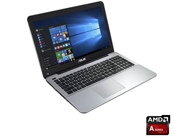 ASUS X555DA-AS11 15 Inch Full-HD AMD A10 Quad Core Laptop with Windows 10, 256GB SSD Black & Silver $399.00 on eBay