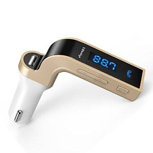 Bluetooth FM Transmitter,LDesign Wireless In-Car FM Adapter Car Kit with USB Car Charging $11.95+FS w/prime@Amazon