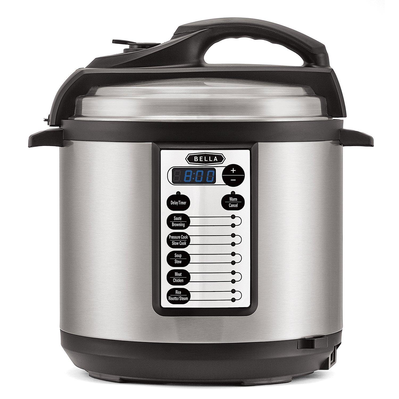 Bella 6-qt. Pressure Cooker - $48 @ Amazon