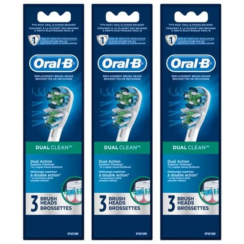 9-Count Oral-B Toothbrush Replacement Heads (Various) $32