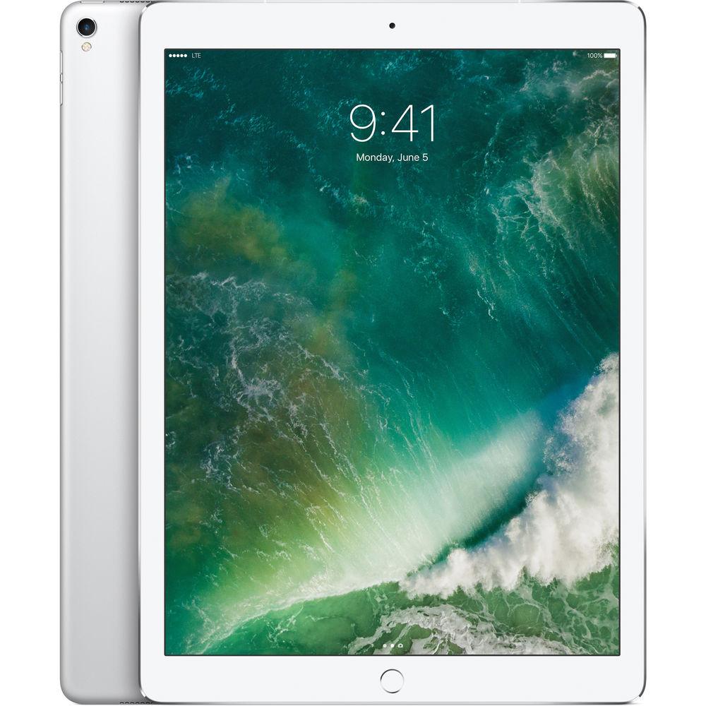 """Apple 12.9"""" iPad Pro (Mid 2017, 512GB, Wi-Fi + 4G LTE, Silver) $699"""