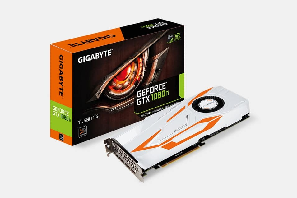 GIGABYTE GeForce GTX 1080 Ti Turbo 11G $649.99