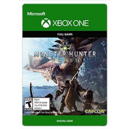 Monster Hunter World Digital Xbox one/PS4 44 99 via Walmart