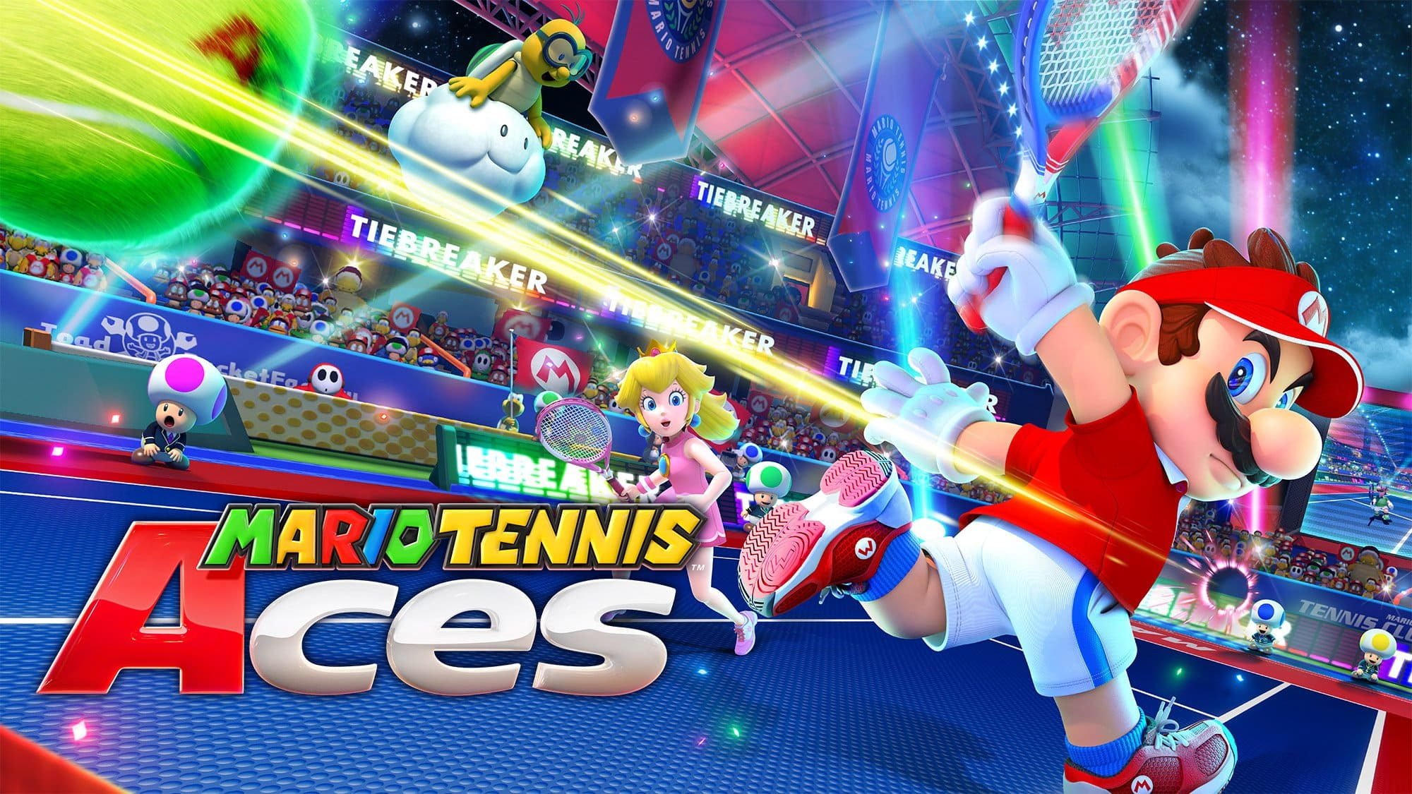 Pre-Purchase digital Mario Tennis Aces and get double gold coins $59.99