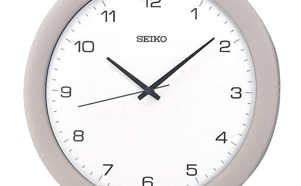 Seiko Office Wall clock Amazon  $18.29FS after $10 coupon