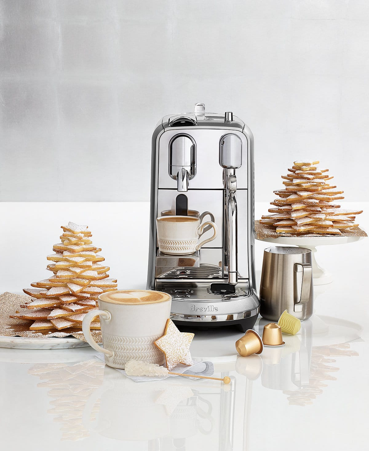 BNE800BSS Breville Nespresso Creatista Plus - Stainless Steel $330