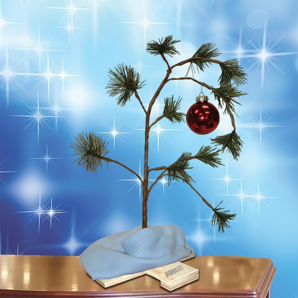 18 Inch Charlie Brown Christmas Tree - FREE SHIPPING $10.99