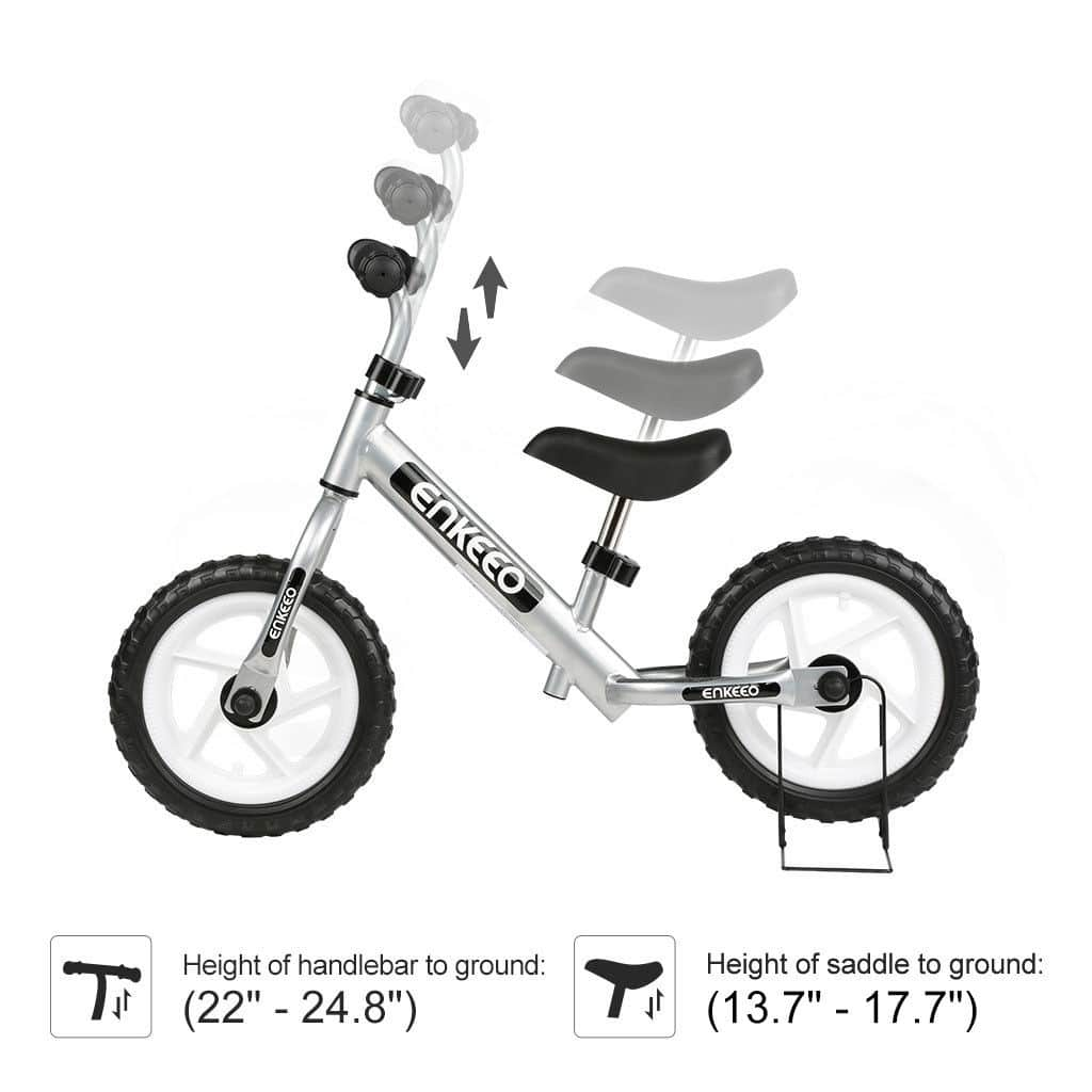 12'' Kids Sports Balance Bike No-Pedal only for $29.99 W/FS