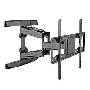 Loctek L5L TV Wall Mount Bracket for 42-70 inch TV with Articulating Arms Full Motion swivel tilt Function Weighing up to 99lbs and Max VESA 600x400 $67.99