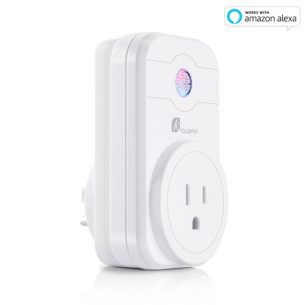 Houzetek SWA1 Wi-fi Smart Plug (Works with Alexa + iOS & Android) $9.70 delivered w/code @ Dresslily