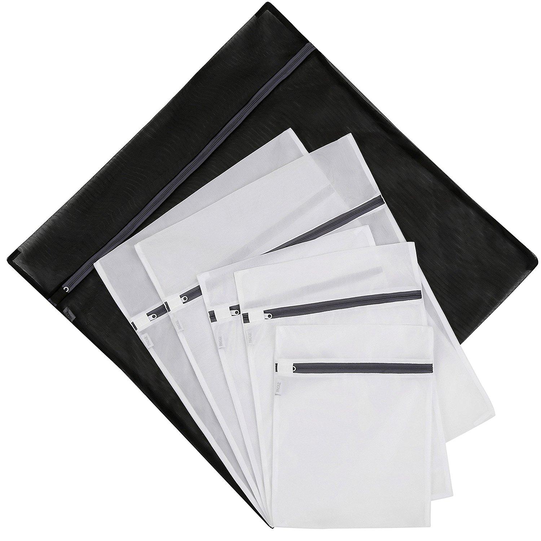 Set of 6 Wash Laundry Bags-1 Jumbo, 2 Extra Large,2 Medium & 1 Small for Laundry Blouse, Hosiery at $5.59 @Amazon