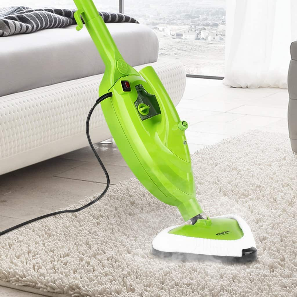 Finther Handheld Steam Cleaner | 10 in 1 Floor Steam Mops 1500W Hot Steam Mops & Carpet at $59.99 @Amazon + FS