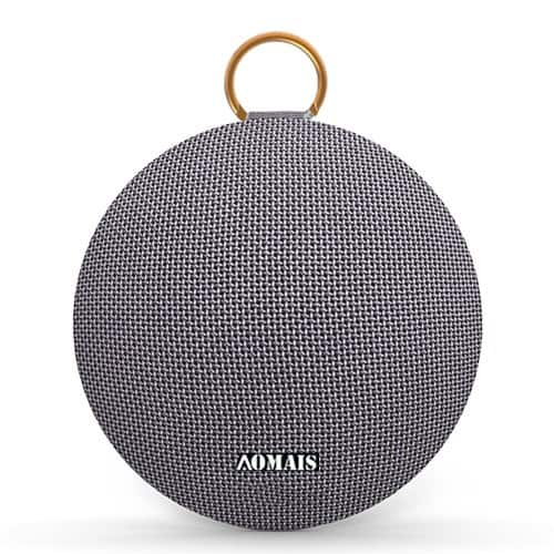AOMAIS Ball 15W Bluetooth Speakers, Superior Sound with DSP,Waterproof Rating IPX7 at $15.99 AC+FS With Amazon Prime