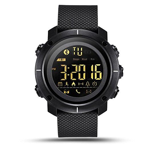 LF19 Digital Men's Smart Watch IP68 Waterproof  watch for $17.39 ac+fs with amazon prime