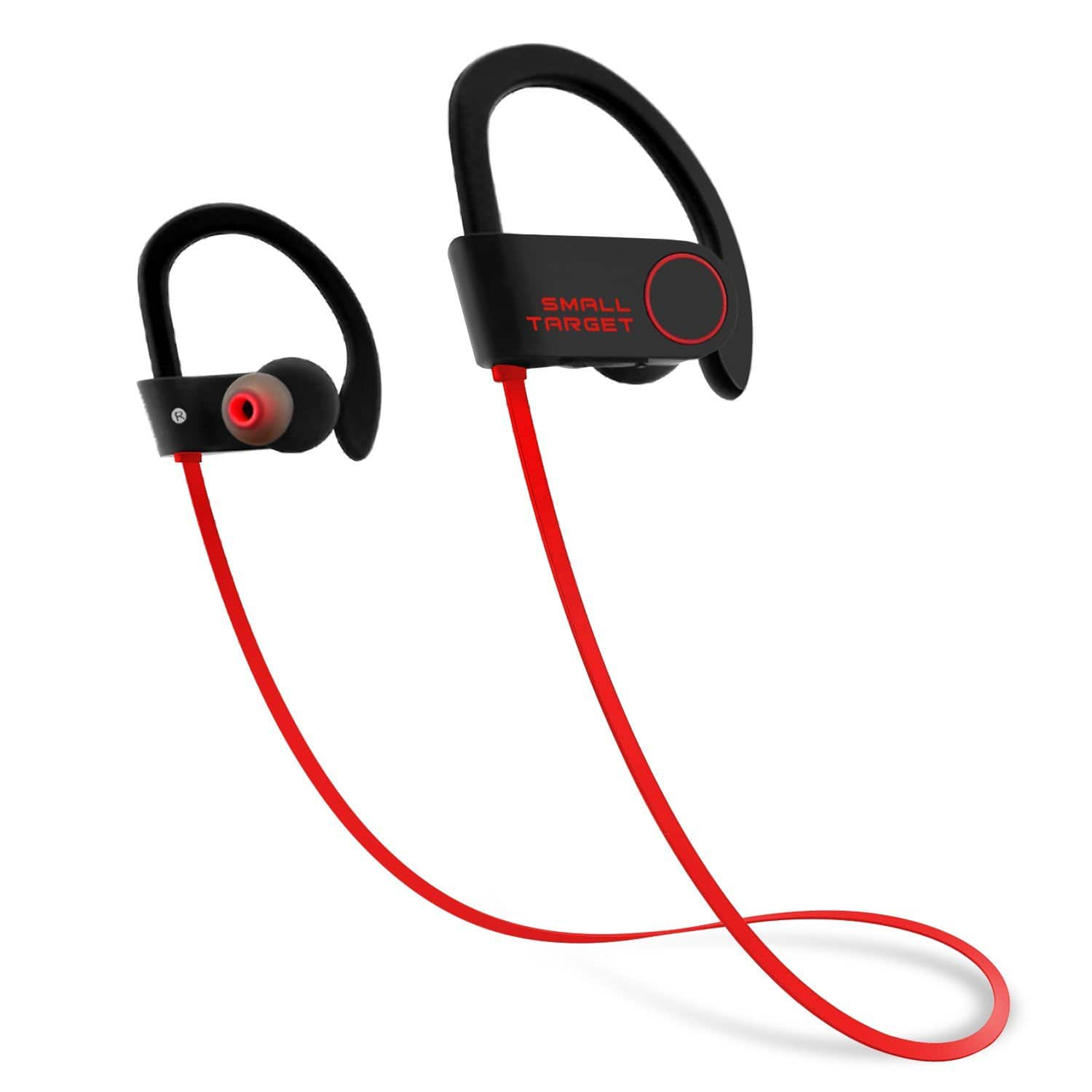 IPX7 Waterproof Stable Fit In Ear Earbuds Noise Isolating Bluetooth Headphones at $11.96 AC+FS With Prime
