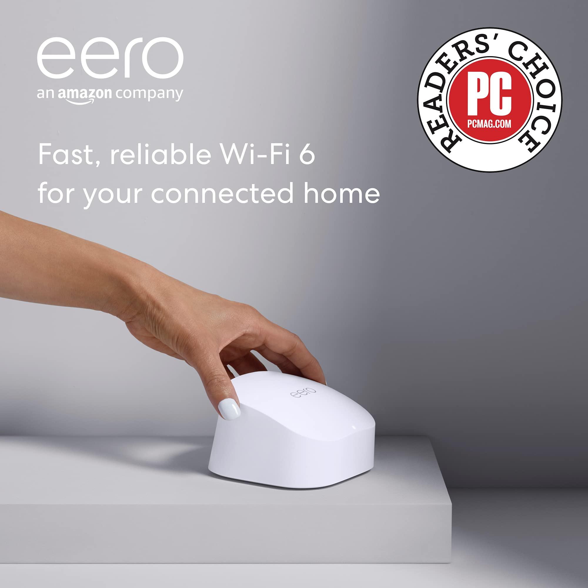 Eero 6 WiFi Mesh 4-Pack Set $280 After Instant Rebate at Costco