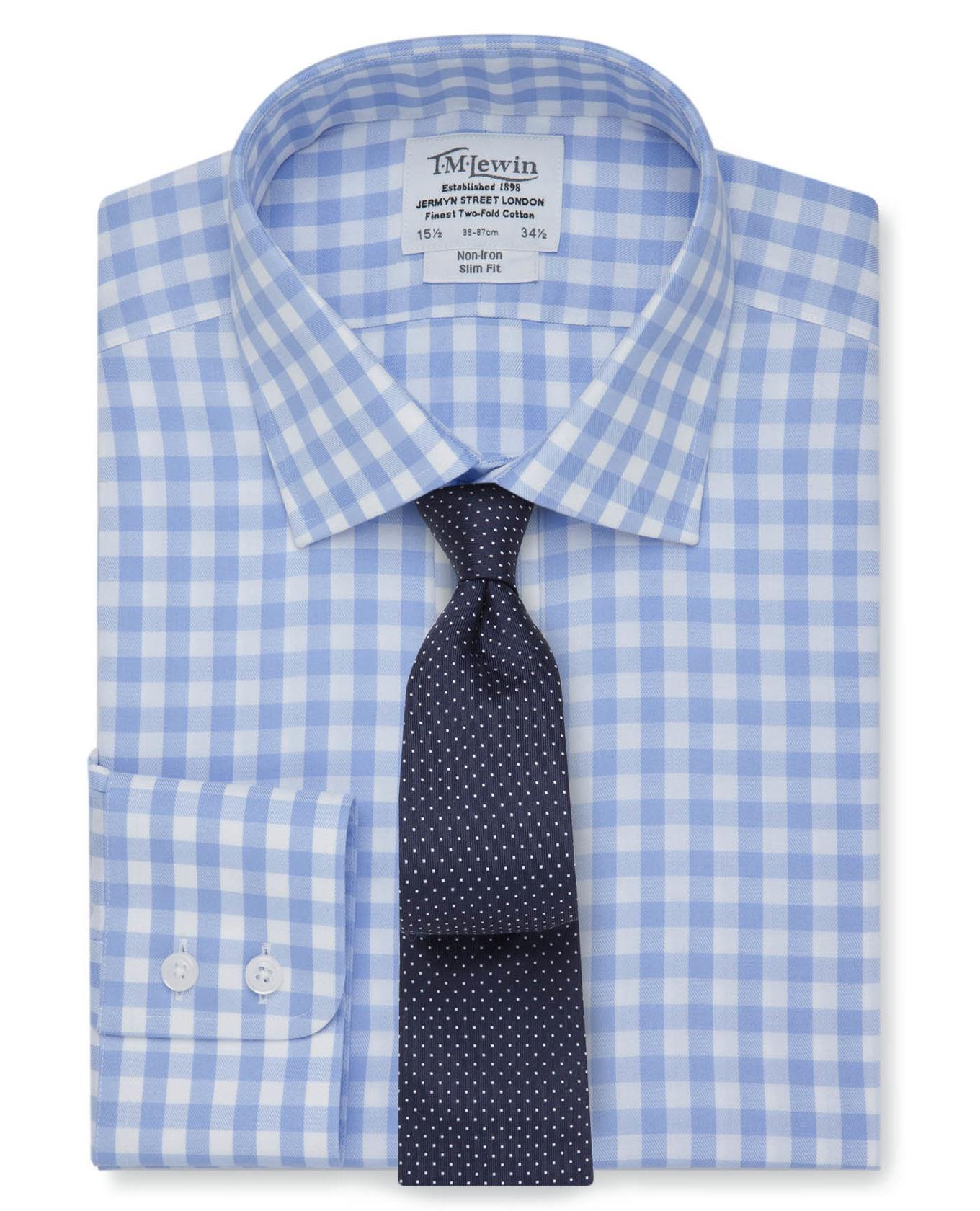 T.M. Lewin Men's Dress Shirts (Various Colors/Styles) $29.95