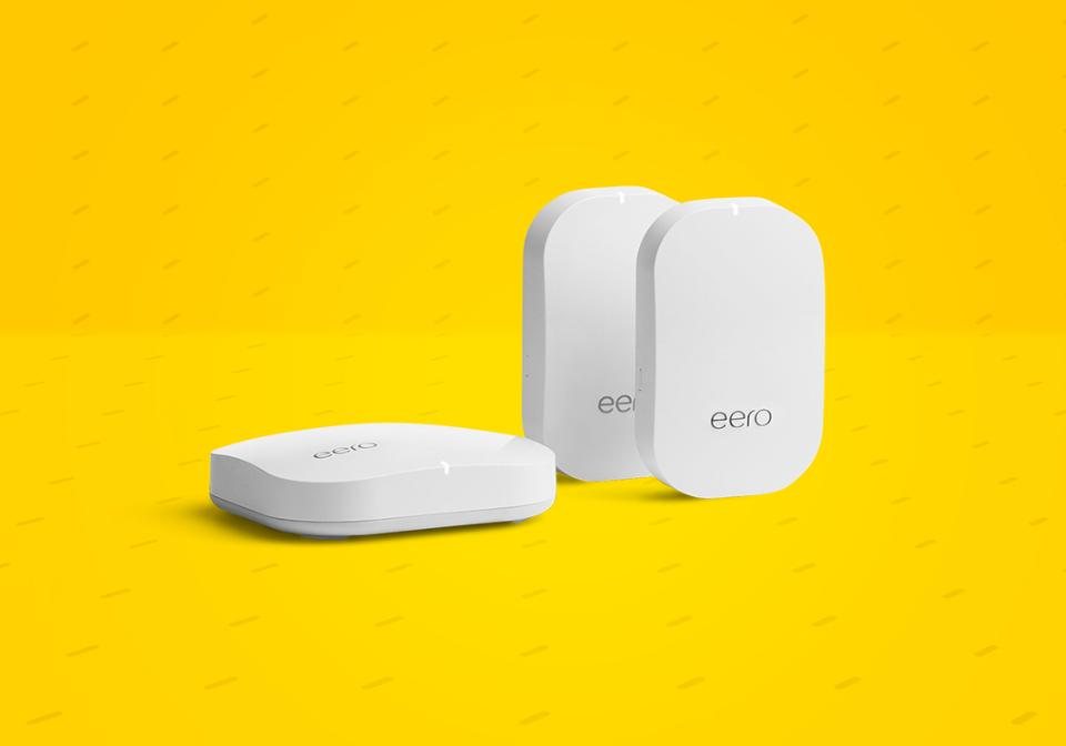 $239 Eero Home Wi-Fi System (1 Eero Pro and 2 Eero Beacons) - Amazon Treasure Truck Deal