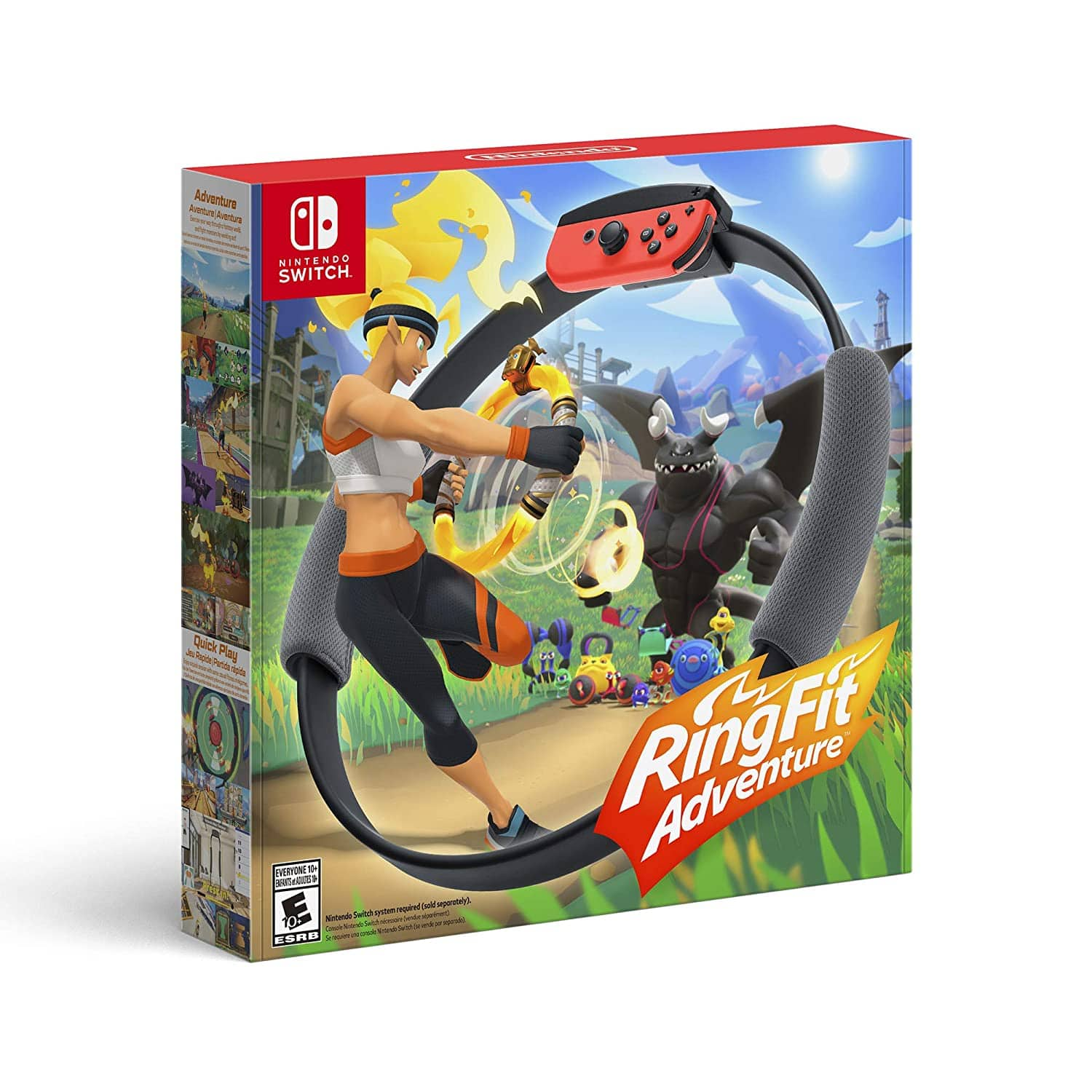 Ring Fit Adventure - Nintendo Switch - Back in stock on Amazon.com $79.99
