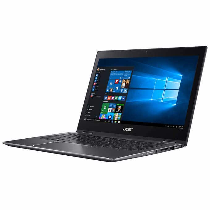 Acer Spin 5 Touchscreen 2-in-1 Laptop - Intel Core  i5-8250U, IPS Touch Screen, SSD drive $599.99
