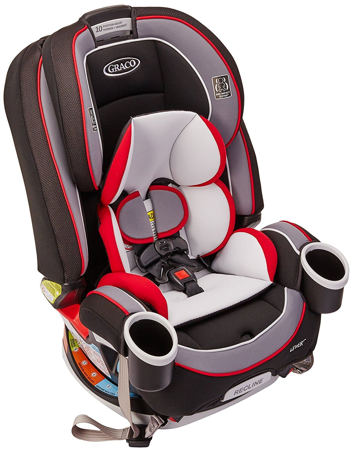Amazon Prime Members - Graco 4ever All-in-One Convertible Car Seat, Cougar -> $199-$60 = $139+tax