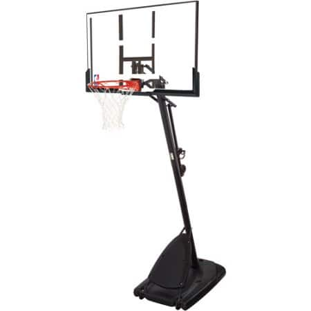 "Spalding NBA 54"" portable basketball hoop $197"