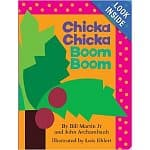 Chicka Chicka Boom Boom Board Book $4.41 Chicka Chicka ABC Board book $3.86 Amazon Free Shipping with Prime