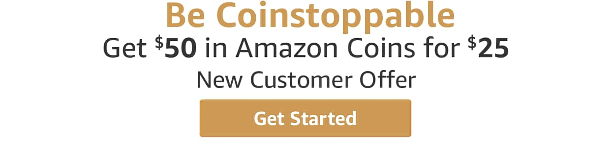 Amazon Appstore Coins $25 for $50 in value!