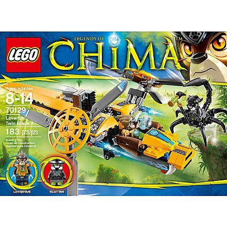 Lego Chima Lavertus Twin Blade, Braptor's Wing Striker, Sparratus' Spider Stalker 44% off at Kmart (Starting at $8.40)